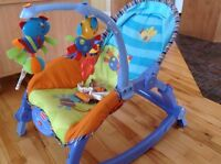 Chaise vibrante Fisher-Price