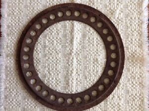 Vintage Cast Iron Stove Pipe Collar