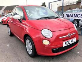 FIAT 500 COLOUR THERAPY 2013 Petrol Manual in Red