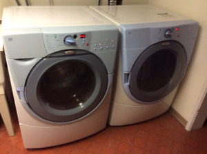 Whirlpool duet washer and dryer set