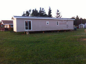 Ocean front 2 bed room mobile home for rent on a weekly basis