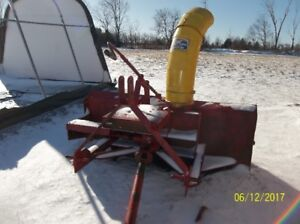 4 blades normand snowblower 6ft 1,000.00 OBO