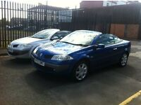 2008 MODEL RENAULT MEGANE 1.6 CABRIOLET LOW MILES FULL HISTORY CHOICE OF 2 *JUST REDUCED BY 500*