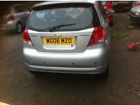 Chevrolet kalos 1.4L on 06 reg long mot
