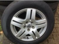 "15"" VW MK4 GOLF TDI ALLOYS PCD 5X100"