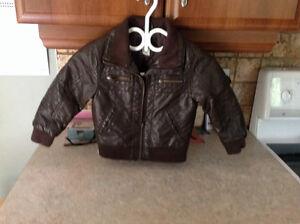 Manteau de cuir 3T