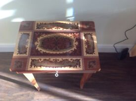 Musical sewing or Jewellery Box