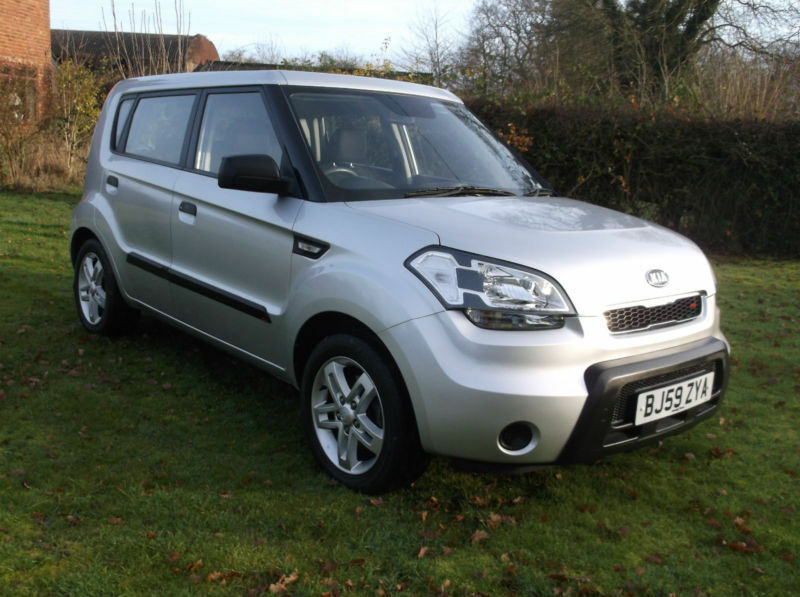 Kia Soul 1 6 1 Low Mileage Car With Full Service History
