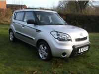 Kia Soul 1.6 1 Low Mileage Car With Full Service History & New Tyres
