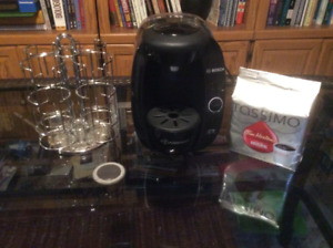 cafetiere bosch tassimo avec support a disquettes