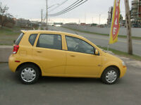 2008 CHEV AVEO LT AUTO  LOADED  INCL.PW ROOF   124KMS ONLY $3986
