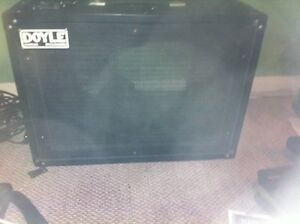 Vintage Doyle 1x12 open back can