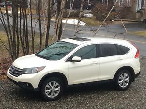 2014 Honda CR-V  Blanc et Noir VUS