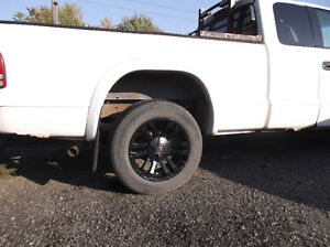 MB TKO Black custom wheels Dodge Dakota 6 bolt