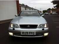 AUTO LEXUS GS 300 SE 3.0 V6 AUTOMATIC FULL ELECTRIC HEATED LEATHERS A/C FOGS LOW MILEAGE SWAPS PX