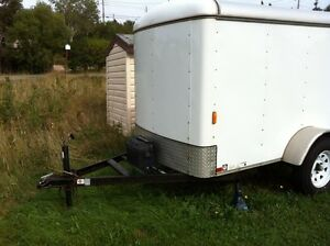 5x8 covered trailer