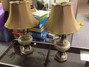 Set of two Elegant Classic Table Lamps