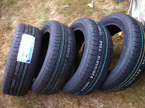 4 BRAND NEW 225/55-18R WEATHERMax TIRES