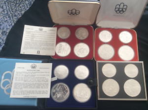 OLYMPIC COIN SETS