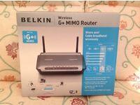 Belkin G+ MIMO Wireless Router