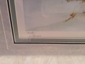 Tricia Romance numbered print 'Dusk' Cambridge Kitchener Area image 2