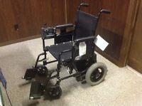 Electric wheelchair never used