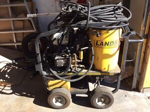 Landa gas powered hot water pressure washer