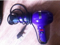 Purple 'Turbodrive 2000' hair dryer
