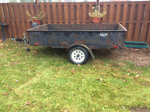 For sale a 4 x 8 trailer Prince George British Columbia image 1