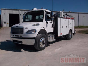 New 2018 Freightliner M2 with 14ft Summit Service Truck Body