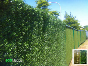 EcoHedge 10'x6' Green Privacy Artificial Hedge Sheet for Fence
