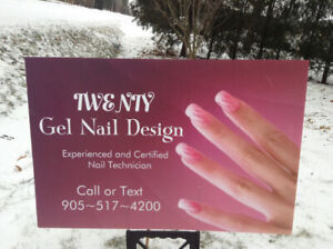 Great News!!....TWENTY Gel Nail Design is Accepting New Clients