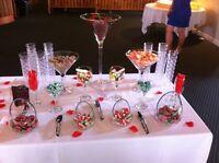 Bar à bonbon pour événements! Prix très abordable
