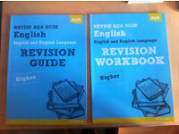 GCSE English & English Language Revision Workbook & Revision Guide Higher