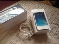 Apple Iphone 4 white 16GB 3 network £60