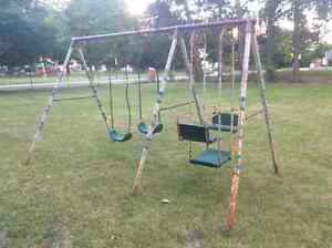 Swing Set --FREE To A Family