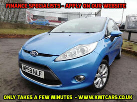 2009 Ford Fiesta 1.25 (82ps) Zetec - Over 45MPG Average - KMT Cars