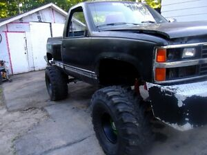 1988 Chev shortbox monster truck and a couple other projects