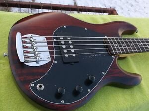 Sterling Music Man S.U.B Ray 5 Electric Bass Guitar with Gig Bag