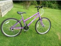 Girls mountain cycle 24""