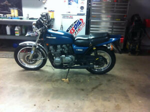 70's honda cb 750, kz 650 900 frams with paper wrk, and parts
