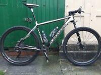 Reward offered - stolen Cannondale mountain bike.