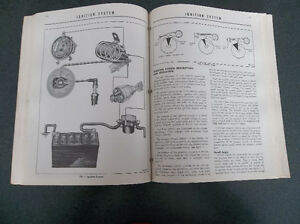 1956 Mercury shop manual London Ontario image 7