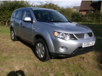 09 58 Mitsubishi Outlander 2.0DI-D Equippe Lovely Clean Well Maintained Example