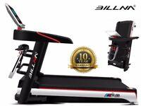 Billna A6 Foldable Treadmill Slim Line Multi Function Motorised Running Machine RRP 499.99