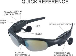 MP3 Sunglasses (Brand new)
