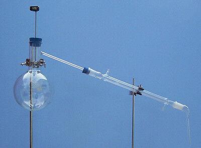 Distillation Apparatus 2000 Ml Flask 300 Mm Condenser