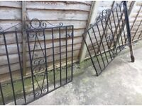Driveway double Iron Gates MAKE ME AN OFFER