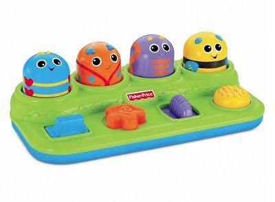 Activity Baby Bugs Brilliant Boppin Basics Pop Up Toy Development Play Enjoyable