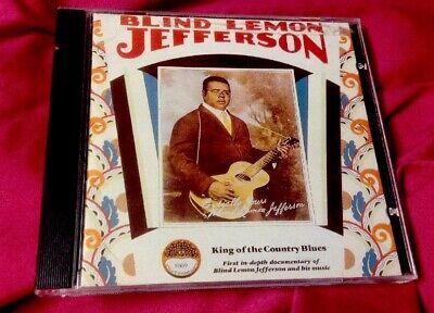 oop 1990 Blind Lemon Jefferson - King of the Country Blues - Yazoo 1069